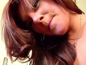Naughty babe Rissa Maxxx likes fucking hard during impressive POV porn session