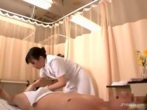 Nasty nurses gets horny and fucks
