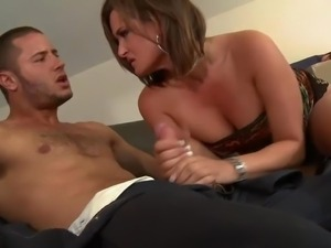 Gorgeous staked milf Tory Lane is a real slut that
