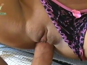 College girl with perfectly shaved pussy Allaura Sweet sucks my dick before...