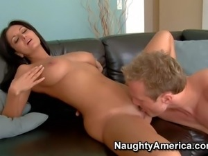 Good looing milf Ava Addams with big tits and long