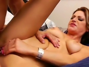 Carmen McCarthy feels like being devoured by Derrick Pierces hard penis