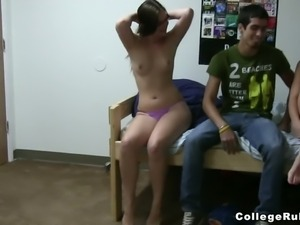 This video is about another party in the dorm. Naughty