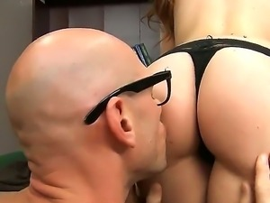 Maddy OReilly demonstrates her delicious young butt and gets a big perfect...
