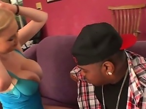 Katie Kox is so horny today and she willingly gets black monster dick in her...