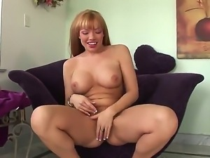 Very beautiful blonde with big tits Maya Hills masturbates with different...