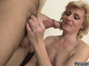 Fresh cock for hot mature woman