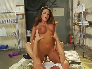 Have tons of pleasure in a company of Ariella Ferrera and Johnny Sins. The...