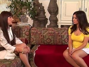 Two so beautiful and pretty lesbians pornstars Alexandra Silk and Taylor...