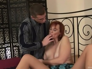 Helga is a hot blooded mature slut that can't wait