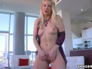 Sexy MILF Ashley Fires with pale skin and blonde hair