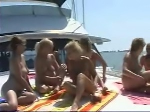 mature orgy on a boat pt1