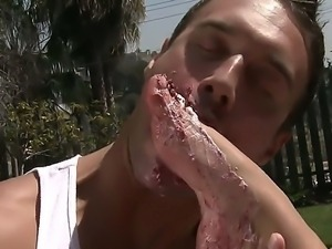 Asa Akira gets deep fucked by horny black male in amazing outdoor hardcore...