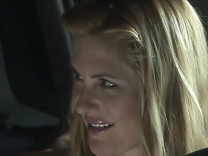 Welcome to wild hardcore jorney with arousing lesbians Kate Kastle and Lily...