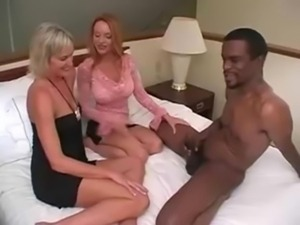 Threesome - 2 Mature Milfs 1 Man free