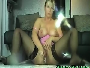 Super Squirting Blonde XcamsXx.com