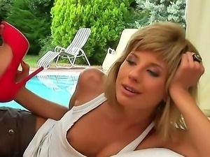 Here is the incredible pounding with nasty and always cock-hungered blonde...