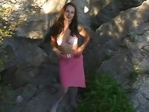 Hot Babe Outdoor