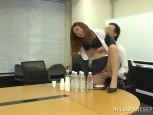getting hot & nasty in the meeting room