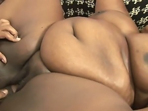Fat and horny bitch Thunder katt gets a black dick in the tight pussy