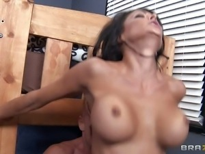 Jessica Jaymes was his super sexy teacher with huge boobs