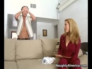 Hot milf is seduced by her sons hung friend free