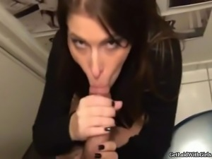 A lucky guy meets a beautiful French girl