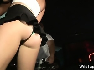 Awesome unpaid chicks in x-rated action