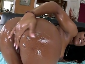 Megan Vaughn is one of the hottest ebony bitches in the game and she loves to...
