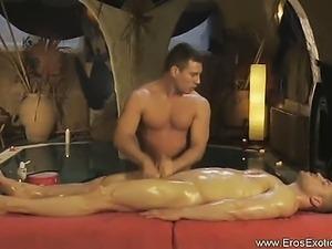 Gentle But Firm Genital Massage
