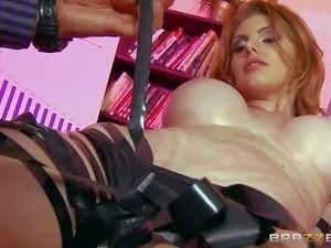 PornSharing.com xxx videoclip : One of a kind gorgeous redhead bombshell with...