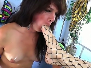 Tranny fuck with Stefani Special and TS Gina Hart would make you feel so...