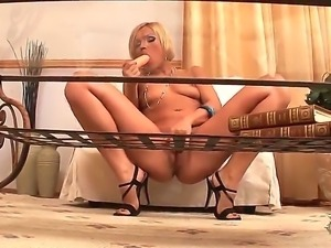 Sylvia Laurent wants to use her dildo in her pussy so she can forget about...