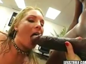 Flower Tucci and Chelsea Zinn in hot anal threesome with Lex Steele