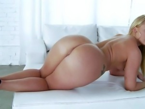 AJ Applegate is a beautiful naked blonde doll with amazing body. Flat chested...