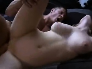 Lovely babe gives her pussy