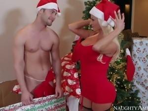www.PornSharing.com the best movie - Smoking hot blonde bombshell Nikita Von...