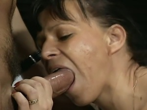 Mature brunette is picked up on the streets and convinced to be recorded...