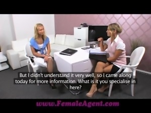 Female Agent Let me show you how to pleasure a woman