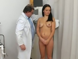 Perverted doctor and young lily