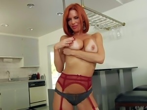 Veronica Avluv is a 4 year old red-haired leggy pornstar. She demonstrates...