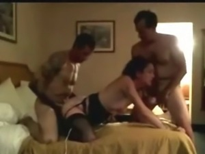 A bisexual threesome video
