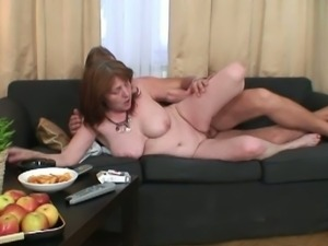 Young stud fuck his wife's mom