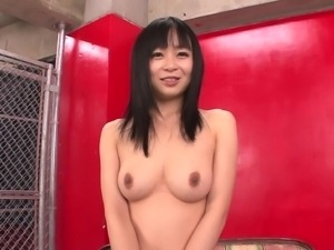 shameless asian chick masturbating