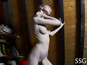 Hotty can't live without wild masturbation