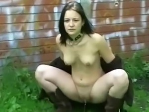 Teen goth babes public pussy flashing and outdoor skinny amateur punk...
