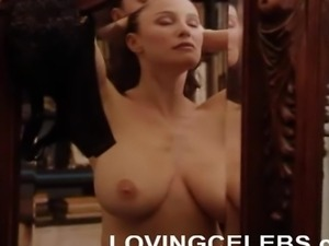 Mimi Rogers nude with big natural breasts massaged