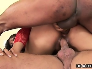 Splendid Asian gal Max Mikita enjoys having rough sex