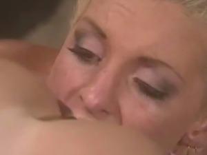 Celebrity has Lesbian Sex with Pornstar