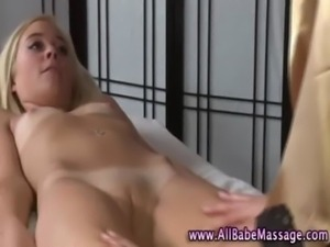 Masseuse licking client pussy free